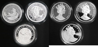 3 Stück 1 Crown Silber 1986 Isle of Man Fußball-WM 1986 in Mexiko PP Pr... 55,00 EUR  +  10,00 EUR shipping