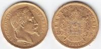 20 Francs GOLD 1861 A Frankreich Napoleon III. 1852-1870 sehr schön++  239,00 EUR  +  10,00 EUR shipping