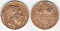 20 Francs GOLD 1867 Belgien Leopold II. 1865-1909 sehr schön-vorzüglich  239,00 EUR