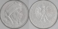"""10 Zlotych Silber 1933 Polen """"Jan III. Sobieski"""" sehr schön  55,00 EUR  +  10,00 EUR shipping"""