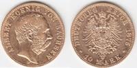 10 Mark GOLD 1875 E Sachsen Albert 1873-1902 sehr schön  269,00 EUR  +  10,00 EUR shipping