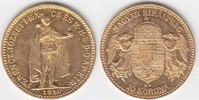 "10 Korona GOLD 1910 Ungarn ""Franz Josef I., 1848-1916"" vorzüg... 145,00 EUR"