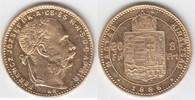 """8 Forint GOLD 1886 KB Ungarn """"Franz Josef I., 1848-1916"""" sehr... 269,00 EUR"""