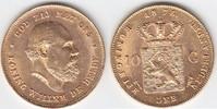 10 Gulden GOLD 1875 Niederlande Wilhelm III. vorzüglich  219,00 EUR