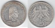 5 Mark 1955 F BRD Friedrich von Schiller winzige Haarlinien, gutes vorz... 169,00 EUR  +  10,00 EUR shipping