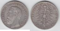 2 Mark 1877 G Baden Friedrich I. 1856-1907 schön-sehr schön  44,00 EUR