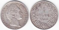 1/2 Gulden 1844 Bayern Ludwig I. 1825-1848 sehr schön  35,00 EUR