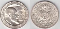 3 Mark 1911 F Württemberg Silberhochzeit vorzüglich  30,00 EUR