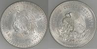 "5 Pesos Silber 1947 Mexiko ""Cuauhtemoc"" prägefrisch  35,00 EUR"