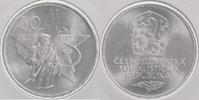 50 Kronen Silber 1973 Tschechoslowakei 25 Jahre Sieg der Kommunistische... 12,00 EUR