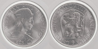10 Kronen Silber 1965 Tschechoslowakei Jan Hus prägefrisch-stempelglanz  19,00 EUR