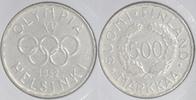 500 Markkaa Silber 1952 Finnland Olympiade Helsinki vorzüglich  15,00 EUR