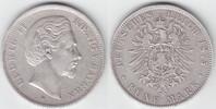 5 Mark 1875 D Bayern Ludwig II. 1864-1886 sehr schön-vorzüglich  94,00 EUR  +  10,00 EUR shipping