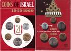 Kursmünzenset 1969 Israel  prägefrisch in Original-Blister  10,00 EUR  +  6,00 EUR shipping