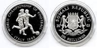 250 Shillings Silber 2003 Somalia Fußball-WM 1990 in Italien PP Proof  26,00 EUR  +  6,00 EUR shipping