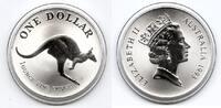 1 $ Silberunze 1993 Australien Känguruh Stempelglanz  35,00 EUR