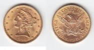 USA 5 Dollars GOLD Half Eagle