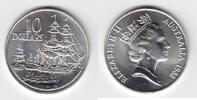 10 Dollars Silber 1988 Australien Kolonisation Segelschiffe Stempelglan... 20,00 EUR  +  6,00 EUR shipping