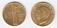 20 Lire GOLD 1923 Italien 1. Jahrestag des Marsches der Faschisten auf ... 979,00 EUR