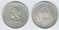 1 Peso Silber 1911 El Salvador Christoph Kolumbus sehr schön+  59,00 EUR  +  10,00 EUR shipping