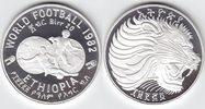 20 Birr Silber 1982 Äthiopien Fußball-WM PP in Kapsel  16,00 EUR