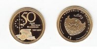 Palau 1 Dollar GOLD 2007 PP Proof in Kapsel + Zertifikat 50 Jahre Deutsc... 33,00 EUR
