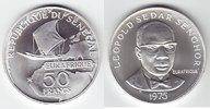 """50 Francs Silber 1975 Senegal """"25 Jahre Eurafrique"""" Stempelgl... 219,00 EUR"""