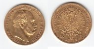 Preußen 10 Mark GOLD Wilhelm I. 1861-1888