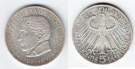 5 Mark 1957 J BRD Joseph Freiherr von Eichendorff prägefrisch  269,00 EUR  +  10,00 EUR shipping