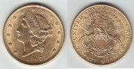 20 Dollars GOLD 1907 U.S.A. Double Eagle fast vorzüglich  1199,00 EUR