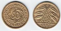 50 Rentenpfennig 1923 G Weimarer Republik  vorzüglich-stempelglanz  65,00 EUR  +  10,00 EUR shipping