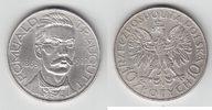 """10 Zlotych Silber 1933 Polen """"Traugutt"""" sehr schön  75,00 EUR  +  10,00 EUR shipping"""
