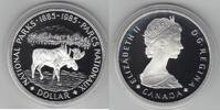 1 Dollar 1985 Kanada Elch PP Proof in Kapsel  10,00 EUR