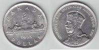 Dollar 1935 Kanada Kanu vorzüglich  26,00 EUR  +  6,00 EUR shipping
