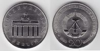 20 Mark 1990 DDR Brandenburger Tor Stempelglanz  6,00 EUR  +  6,00 EUR shipping