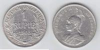1 Rupie 1908 J Deutsch Ostafrika Deutsche Kolonien sehr schön  59,00 EUR