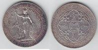 Handelsdollar 1910 Großbritannien Edward VII, Handelsdollar Orient sehr... 99,00 EUR  +  10,00 EUR shipping