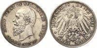 1911  3 Mark Schaumburg Lippe 1911 auf den Tod vz-st  195,00 EUR  +  7,00 EUR shipping