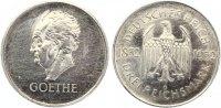 1932 G  3 Mark Goethe vz aus Erstabschlag leicht berieben  110,00 EUR  +  7,00 EUR shipping