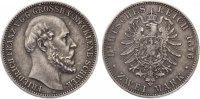 1876  2 Mark Mecklenburg Schwerin Details vz, fachgerecht restaurierte... 495,00 EUR  +  7,00 EUR shipping