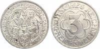 1927  3 Mark Nordhausen vz-st  160,00 EUR  Excl. 7,00 EUR Verzending