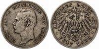 1895  5 Mark Hessen ss  235,00 EUR  +  7,00 EUR shipping