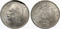 1914  3 Mark Baden vz-st  55,00 EUR  +  7,00 EUR shipping