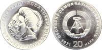 1971  20 Mark Liebknecht  /Luxemburg ST  55,00 EUR  Excl. 7,00 EUR Verzending