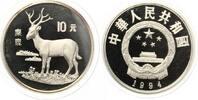 1994   China 10 Yuan 1994 Bedrohte Tierwelt Der Davidshirsch Silber PP... 80,00 EUR  +  7,00 EUR shipping