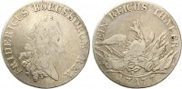 1777 A  Reichstaler  Brandenburg Preussen 1777 A Friedrich der Große  ... 115,00 EUR  Excl. 7,00 EUR Verzending