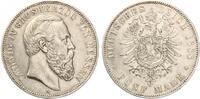 1888  5 Mark Hessen 1888 Ludwig IV vz  3350,00 EUR  +  7,00 EUR shipping