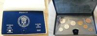 1981  Frankreich Fleurs de Coins KMS Kursmünzensatz st  55,00 EUR  +  7,00 EUR shipping