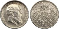1907  2 Mark Baden 1907 Friedrich I auf den Tod vz+  75,00 EUR  Excl. 7,00 EUR Verzending