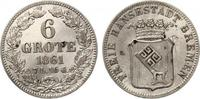 1861  Bremen 6 Grote vz-st leicht berieben  60,00 EUR  +  7,00 EUR shipping